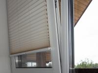 Натяжные шторы-плиссе